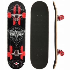 Скейтборд SportVida Dark Fly красный (SV-RD0002)