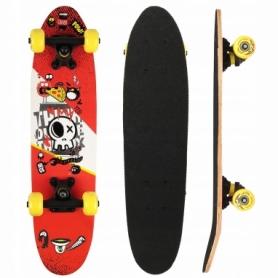Скейтборд круизер SportVida Abstract красный (SV-RD0003)