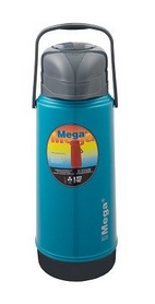 Термос-помпа питьевой Mega 1,8 л, МАР180В (0717040627189TORQ)