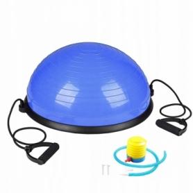 Платформа балансировочная Springos Bosu Ball синяя, 57 см (BT0001)