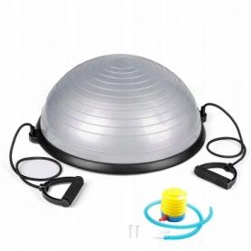 Платформа балансировочная Springos Bosu Ball серая, 57 см (BT0002)