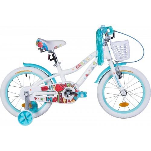 """Велосипед детский Formula Cream 2021 18 белый, рама - 9"""" (OPS-FRK-18-089)"""