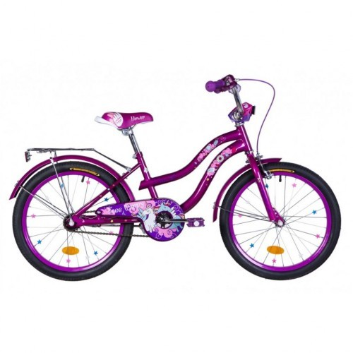 """Велосипед детский Formula Flower 2021 16 фиолетовый, рама - 9"""" (OPS-FRK-16-145)"""