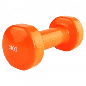 Гантель для фитнеса виниловая Stein, 3 кг (LKDB-504A-3)