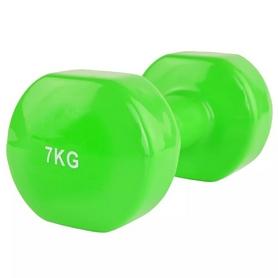Гантель для фитнеса виниловая Stein, 7 кг (LKDB-504A-7)