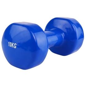 Гантель для фитнеса виниловая Stein, 10 кг (LKDB-504A-10)