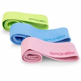 Набор резинок для фитнеса Spokey Emra, 3 шт (SL928945)