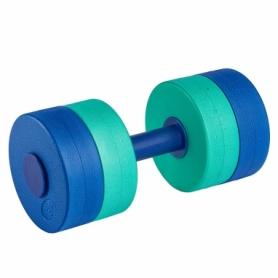 Гантель для аквааэробики MadWave Round Bar Float синяя, 1 шт (M082502_BL)
