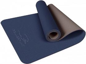Коврик для йоги и фитнеса PowerPlay Premium TPE, 183х61х0.6 см (4150)