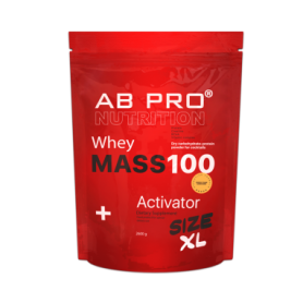 ab pro Гейнер AB PRO Mass 100 Whey Activator Шоколад, 2600 г (ABPR100105)