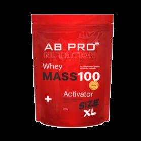 Гейнер AB PRO Mass 100 Whey Activator Клубника, 2600 г (ABPR300105)