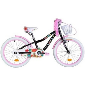 """Велосипед детский Formula Cream 2021 18 черный, рама - 9"""" (OPS-FRK-18-090)"""