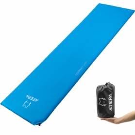 Коврик надувной Atepa Compact Comfort Blue, 183х51х2,5 см (AM1003)