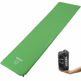 Коврик надувной Atepa Compact Light Green, 183х51х2,5 см (AM1002)