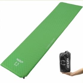 Коврик надувной Atepa Classic Light Green, 183х51х2,5 см (AM1001)