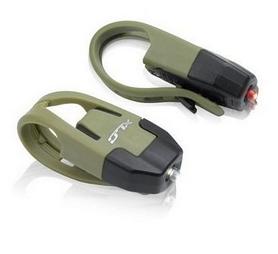 Комплект мини мигалок XLC CL-S10 'Colours' зеленые (2500201200)