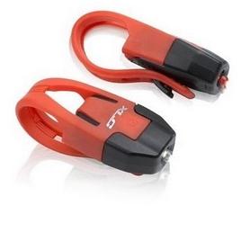 Комплект мини мигалок XLC CL-S10 'Colours' красные (2500201100)