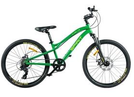 """Велосипед подростковый Spirit Flash 4.2 24 зелёный, рама - 13"""" (52024024230)"""