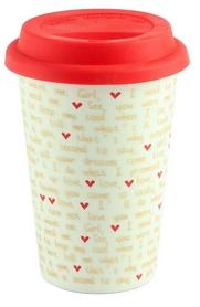 Термокружка G.Wurm Mug to go love, 350 мл (10021035)
