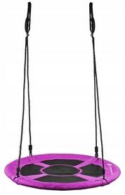 Качели-гнездо круглые Springos фиолетовые, 90 см (NS014)