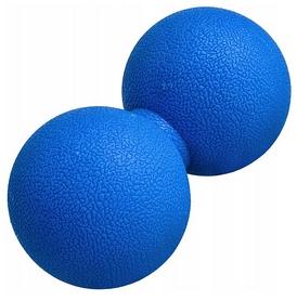 Мяч массажный двойной Springos Lacrosse Double Ball синий, 6x12 см (FA0024)