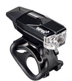 Мигалка велосипедная передняя Infini Mini Lava I-261W-BK (LTS-68-99)