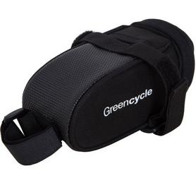 Велосумка подседельная Green Cycle Saddle bag Black (BIB-55-11)