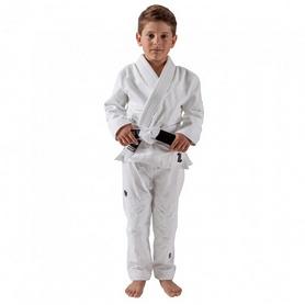 Кимоно детское для Бразильского Джиу Джитсу Kingz The One белое (FP-7671-1)