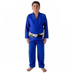 Кимоно детское для Бразильского Джиу Джитсу Kingz The One синее (FP-7683-1)