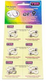 Набор замков велосипедных для цепи YBN 9 скоростей, 6 шт (LCK-038)