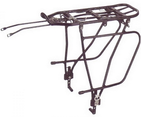 Распродажа! Багажник велосипедный Kaiwei Kw-680-09 Al (CAR-022)