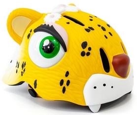 """Шлем защитный для катания Cigna """"Желтый леопард"""" (HEAD-050)"""