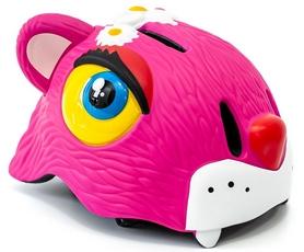 """Шлем защитный для катания Cigna """"Розовый леопард"""" (HEAD-049)"""
