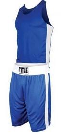 Форма боксерская Title Aerovent голубая (FP-8662-1)