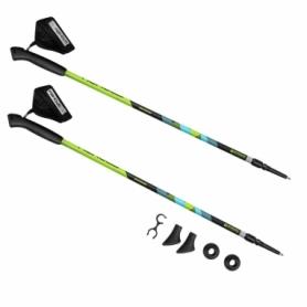 Палки для скандинавской ходьбы Spokey Meadow зеленые (SL929461)