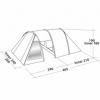 Палатка четырехместная Easy Camp Galaxy 400 (SN928902) - Фото №2