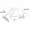 Палатка трехместная Easy Camp Energy 300 (SN928900) - Фото №2