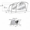 Палатка трехместная Outwell Oakwood 3 (SN928819) - Фото №2
