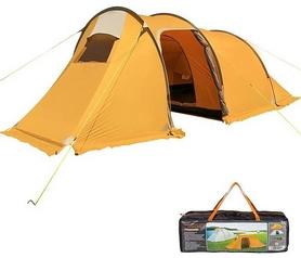 Палатка трехместная Mimir 1017 оранжевая (MM1017R)