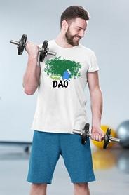 "Футболка мужская Newt с авторским принтом ""Дао"" (F-DAO-M) - Фото №2"