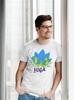 "Футболка мужская Newt с авторским принтом ""Йога"" (F-YOGA-M) - Фото №3"