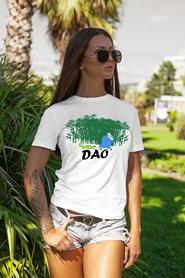 """Футболка женская Newt с авторским принтом """"Дао"""" (F-DAO-W)"""