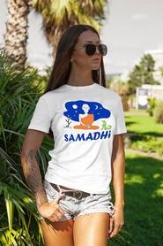 "Футболка женская Newt с авторским принтом ""Самадхи"" (F-SAMADHI-W)"