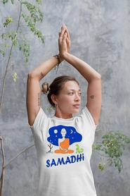 """Футболка женская Newt с авторским принтом """"Самадхи"""" (F-SAMADHI-W) - Фото №2"""