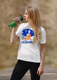 """Футболка женская Newt с авторским принтом """"Самадхи"""" (F-SAMADHI-W) - Фото №3"""