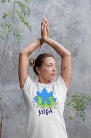 """Футболка женская Newt с авторским принтом """"Йога"""" (F-YOGA-W) - Фото №2"""