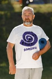 """Футболка мужская Newt с авторским принтом """"Самсара"""" (F-SAМSARA-M)"""