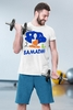 """Футболка мужская Newt с авторским принтом """"Самадхи"""" (F-SAMADHI-M) - Фото №2"""