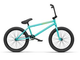 "Велосипед BMX Radio Darco 2021 - 20"" бирюзовый, рама - 20,5"" (1005150-20.5TT-neptun-green)"