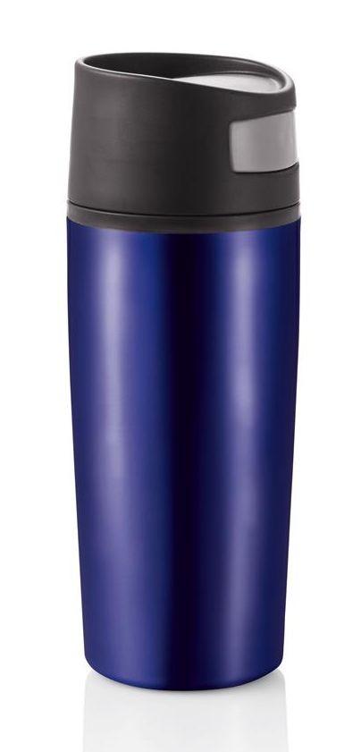 Термокружка Loooqs синяя, 400 мл  (P432.455)